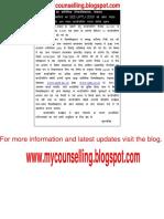 UPTU 2009-Counselling Schedule Update