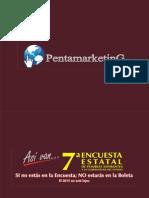 Séptima encuesta estatal de posibles aspirantes a la gobernatura de SLP