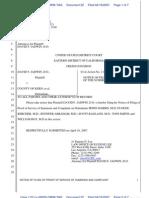 22 Pleading - Notice of Filing of POS - 6 KMC Defs - REFILED