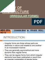 Irregular Forms