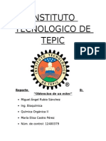 Reporte 8 Organica