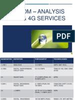 Telecom 3G and 4G