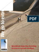 Vertical Access Dam Inspection Services Brochure