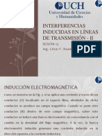 SESIÓN 15 - INDUCCIONES EN LINEAS DE TRANSMISIÓN II