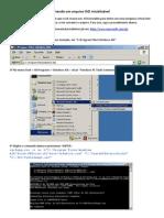 Criando um arquivo ISO inicializável
