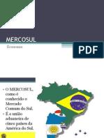 Aula 10 - Mercosul