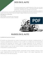 Clase Ruidos Auto
