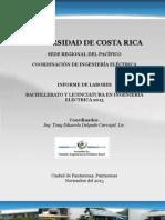 Informe de Labores 2013 Ing Electric