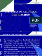 Sistemas de Archivos Distrivuidos