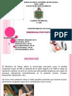 Presentacion Hemorragia Post-parto