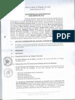 Sesión Ordinaria de Junta Directiva COLEGIO DE ABOGADOS DE LIMA