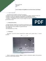 Pr%E1tica 4 - Reconhecimento Das Condi%E7%F5es de Equil%EDbrio de Um M%F3vel Sobre Uma Rampa