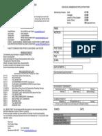 Huntly Ski Club Individual Membership Form