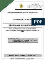Cours RDM Tunisie.doc