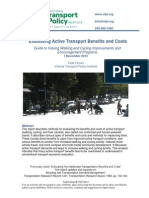 Evaluating Active Transport Benefits and Costs