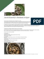 Jacob Kenedy's Chestnut Recipes