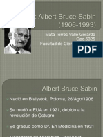 Biografia Sabin