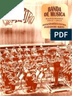 """Asociación Músico-Cultural """"Julián Sánchez-Maroto"""" BANDA   DE   MÚSICA 2012- 2013"""