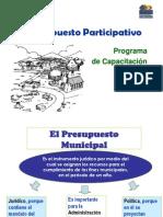 El presupuesto municipal participativo.ppt