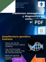 Trastornos monogénicos y diagnostico de enfermedades genéticas