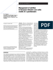 Manejo de la Nutrición en UCI Europeas