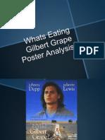 Whats Eating Gilbert Grape Poster Analysis