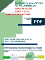 . Analizatori Senzoriali -