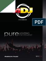 ADJ Product Guide 2013-2014