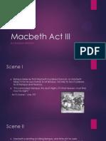 macbeth act iii