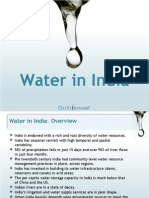 PPT Water in India