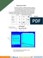 Programación LINEAL macavilca