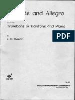 Barat Andante Et Allegro