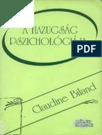 Biland ClaA hazugság pszichológiája
