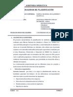 MEMORANDUM DE PLANIFICACIÓN FINAL
