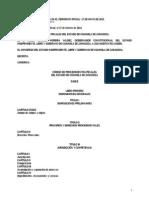 Código de Procedimientos Penales del Estado de Coahuila de Zaragoza