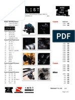 Meehadee Co., Ltd. Price List. 2012