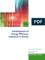 Russia Energy Efficiency Indicators