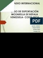 CASO DE EXPORTACIÓN MOZARELLA DE BÚFALA