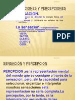 Las Sensaciones y Percepciones
