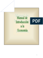 Manual de Introduccion a La Economia
