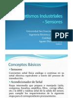 Automatismos Industriales - Sensores