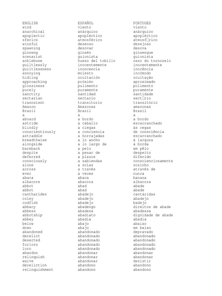 27658725 Diccionario Ingles Espanol Portugues 2