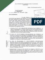 Carta - Gral PNP Sergio Monar Moyoli