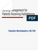 Nursing Care in Radiotherapy