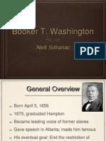 Booker T Washington Powerpoint Presentation