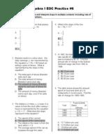 eoc practicews 6 answers