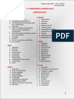 10 Habilidades Gerenciales