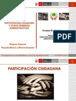 Participacion Ciudadana y Otros Permisos Administrativos
