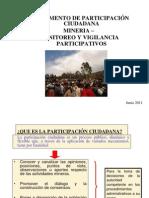 Reglamento Participacion Ciudadana en Mineria
