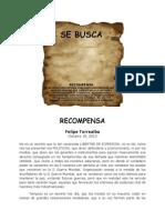 RECOMPENSA Felipe Torrealba